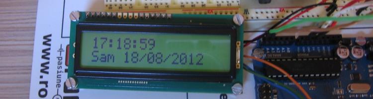 Ceas în timp real DS1307